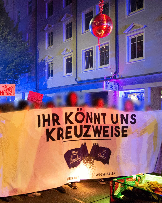 Kollektiven Widerstand organisieren, Feministische Zwischenräume gestalten